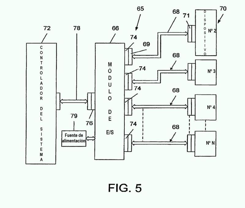 Sistema para el control programado de entrada y salida de señal hacia o desde conductores de cable.