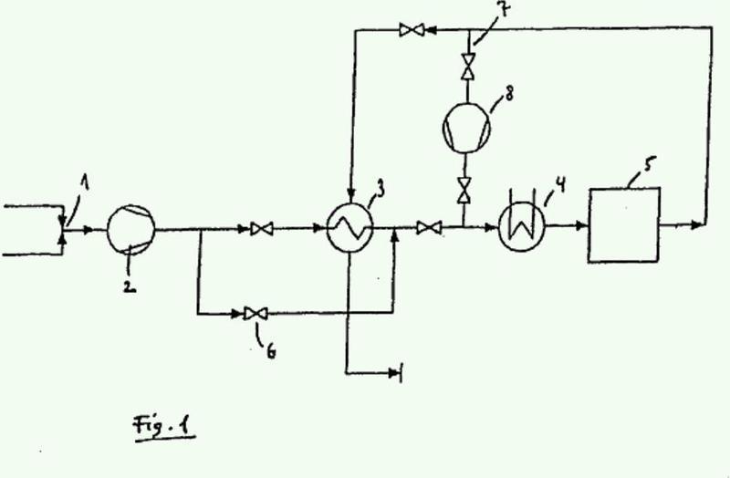Dispositivo y procedimiento para la descomposición de gas hilarante en un reactor de lecho fijo adiabático.