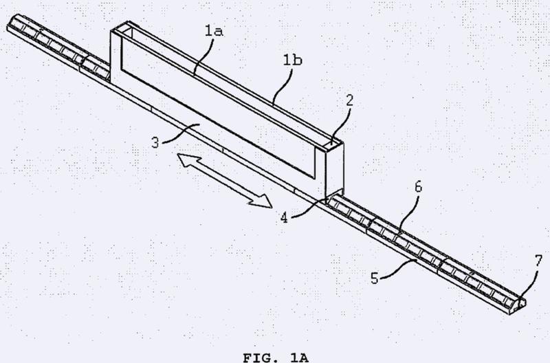 Sistema de levitación magnética para puertas y ventanas.