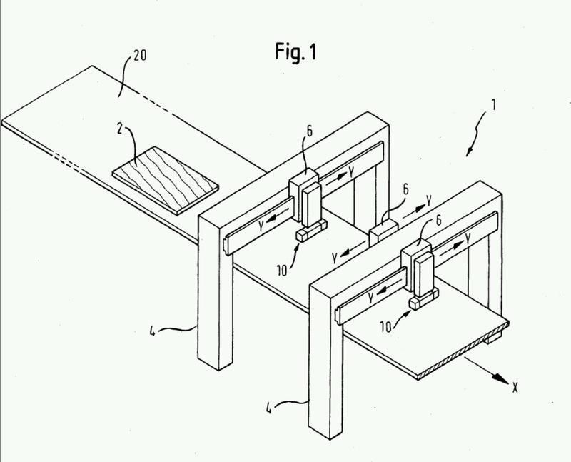 Procedimiento y dispositivo para el revestimiento de una superficie.