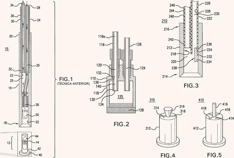 Boquilla para un polarizador para polarización nuclear dinámica (DNP).