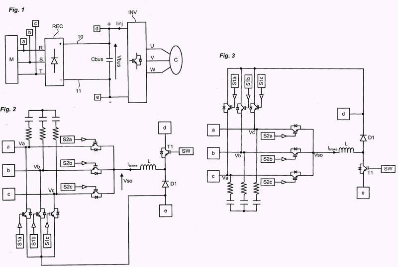 Módulo de regeneración de energía eléctrica para variador de velocidad.
