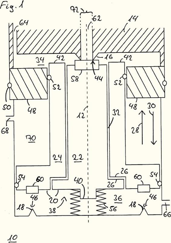 Válvula de 3/2 vías controlada neumáticamente para controlar un freno de mano neumático y procedimiento para hacer funcionar una válvula de este tipo.