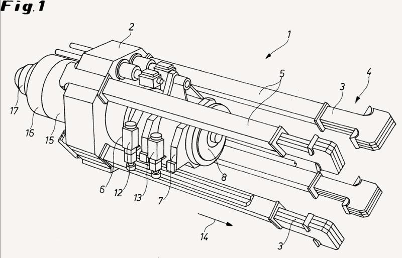 Prensa de extrusión y tubos o prensa de extrusión para metal.
