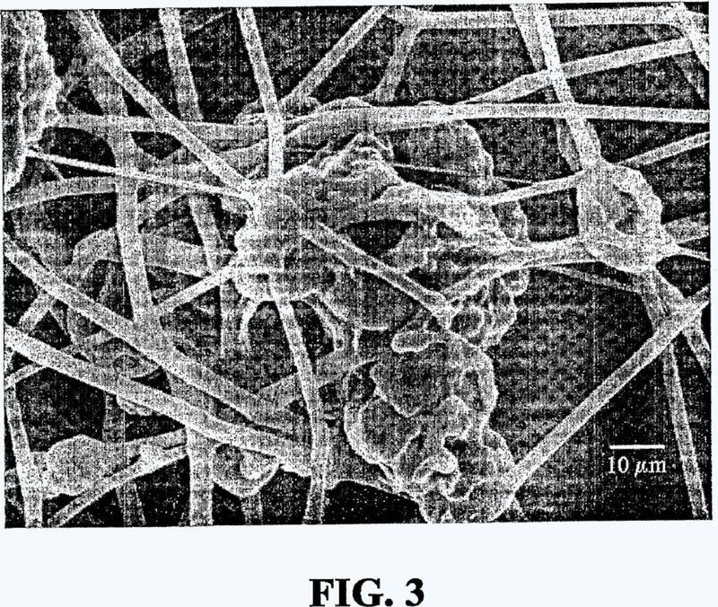 Esteras de fibras no tejidas absorbentes y mecánicamente resistentes.