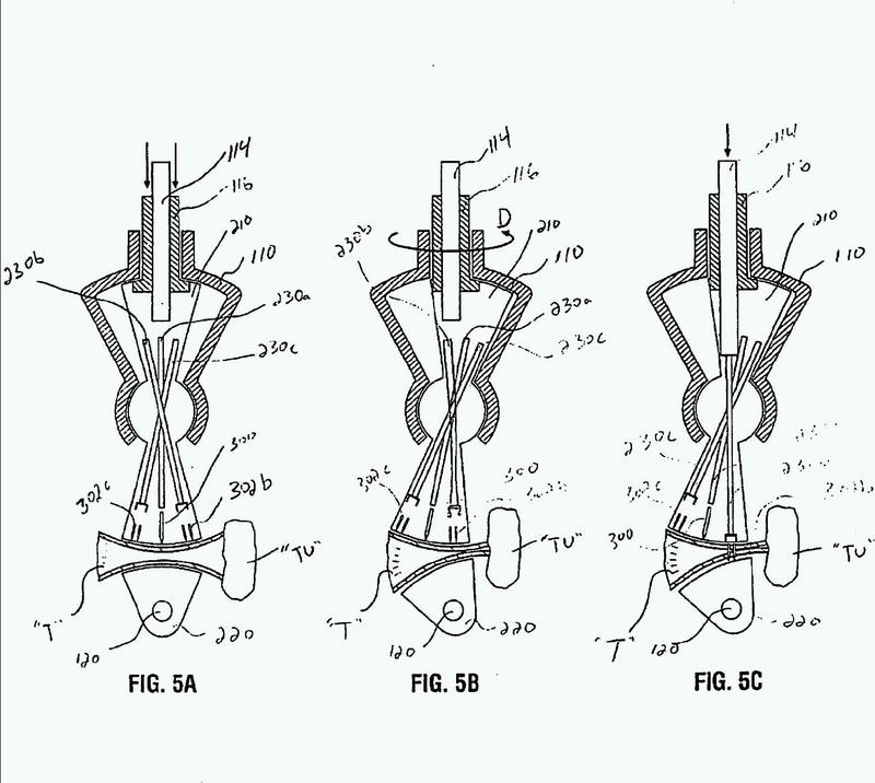 Instrumento quirúrgico con miembro de mordaza pivotable.