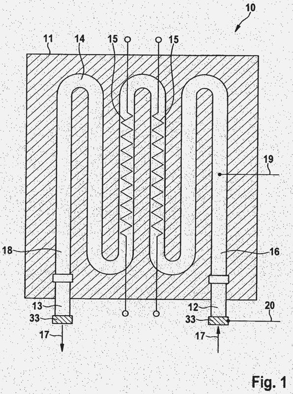 Calentador eléctrico continuo de hilo desnudo y procedimiento para el control del mismo.