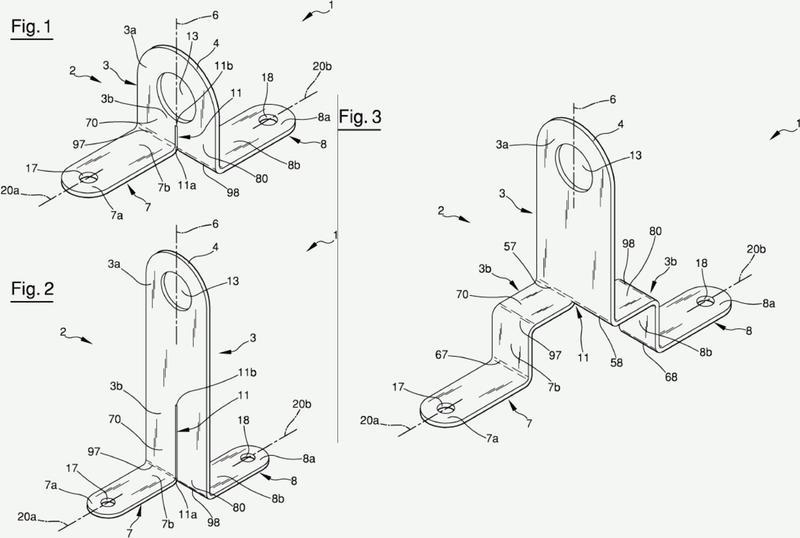 Dispositivo de anclaje anticaídas.
