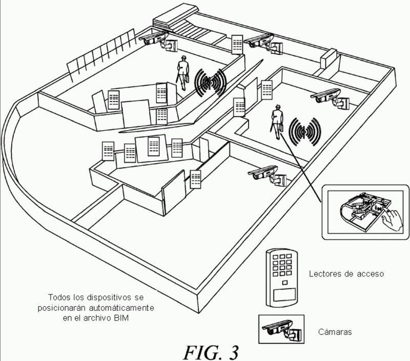 Sistema para configuración automática de dispositivos en un Modelo de Información de Edificio utilizando dispositivos Bluetooth de baja energía.