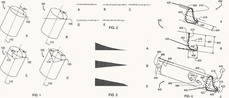 Cabezales de corte seguros y sistemas para retirada rápida de un tejido diana.
