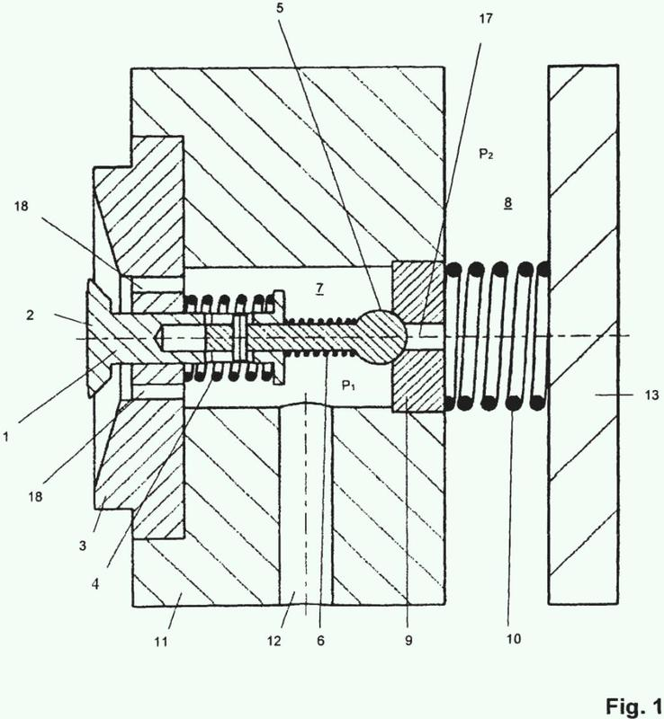 Bomba de membrana con control de posición.