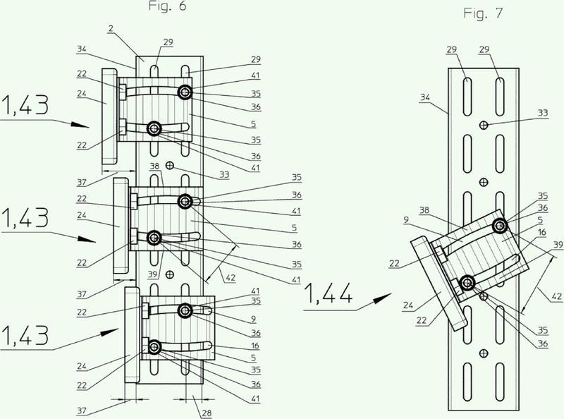 Elemento de fijación para la fijación de puntos de anclaje y/o cargas estáticas en perfiles metálicos.