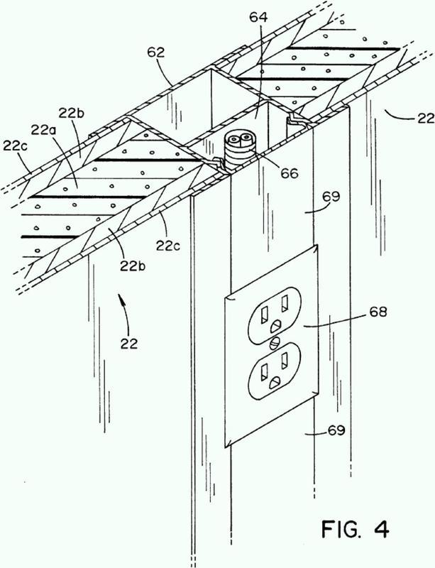 Estructura de descontaminación de peróxido de hidrógeno vaporizado.