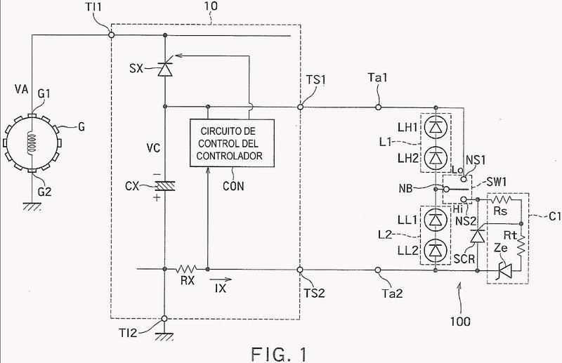 Fuente de alimentación de controlador de lámpara y procedimiento para controlar la fuente de alimentación del controlador de lámpara.