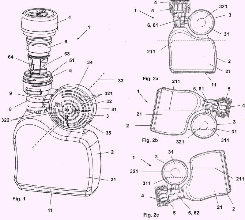 Dispositivo de dosificación y procedimiento para dosificar y dispensar por medio del dispositivo de dosificación.