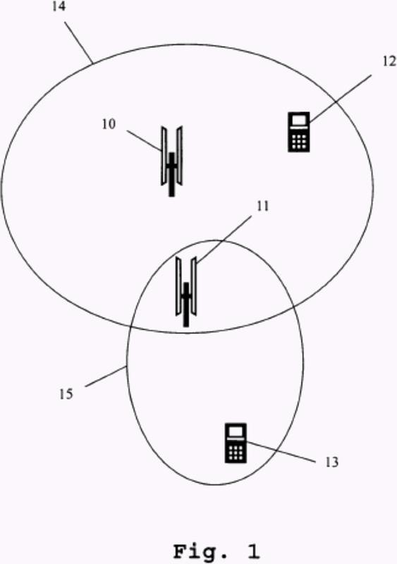 Dispositivo de medición y procedimiento de medición para la medición de estaciones repetidoras de radiotelefonía móvil.