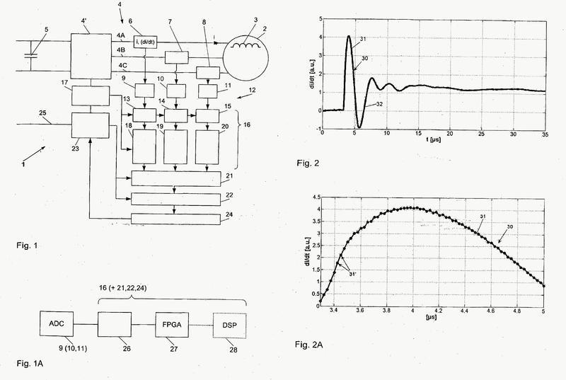 Procedimiento y dispositivo para la detección de un deterioro del estado de un aislamiento en una máquina eléctrica en funcionamiento.
