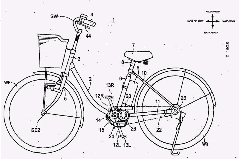 Bicicleta asistida por potencia.