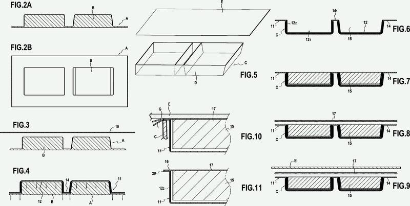 Procedimiento de fabricación de un colchón estanco y colchón estanco obtenido de esta manera.