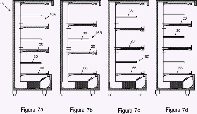 Mejoras en o que se relacionan con aparatos de exhibición refrigerados.