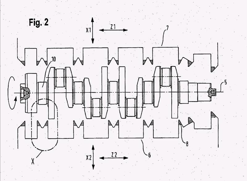 Procedimiento para la mecanización de un árbol de cigüeñal.