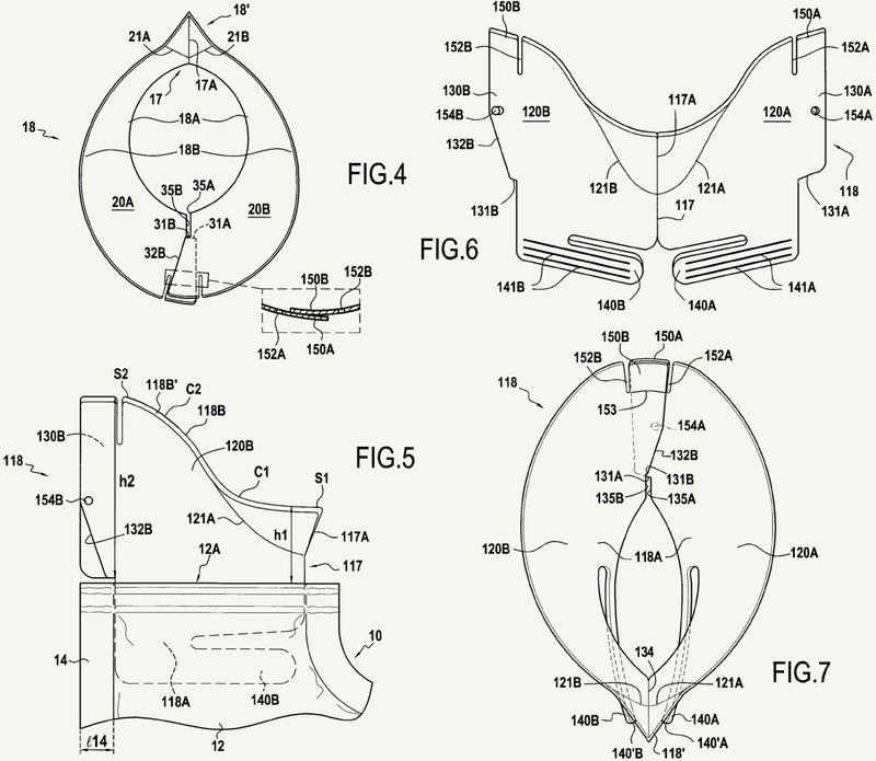 Bolsa flexible con manguito con abertura de pico.