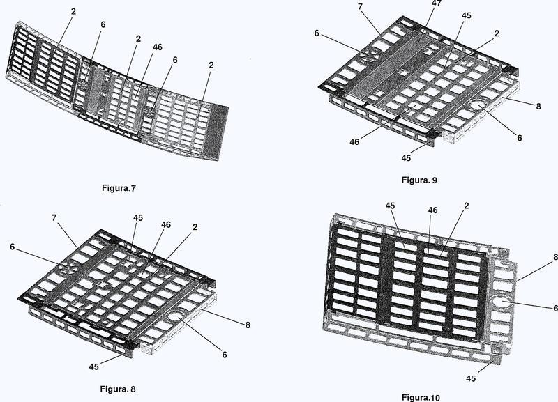 Sistema de rampa modular.