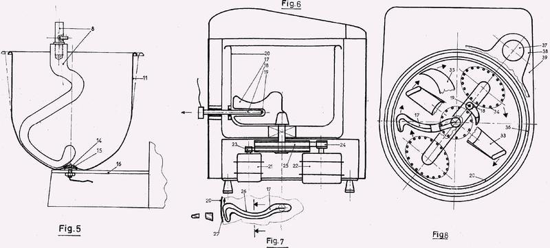 Dispositivo de preparación culinaria con mezcla de los ingredientes contenidos en ésta y medida integrada de la temperatura de la mezcla, y procedimiento de regulación del dispositivo susodicho.