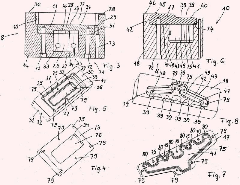 Pieza de molde de fundición a presión de un molde para fundición a presión así como el correspondiente dispositivo para fundición a presión.