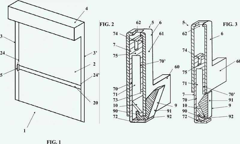 Dispositivo de limitación del repliegue del tablero de un sistema de ocultación, tablero que comporta tal dispositivo de limitación y sistema de ocultación que comporta tal tablero.