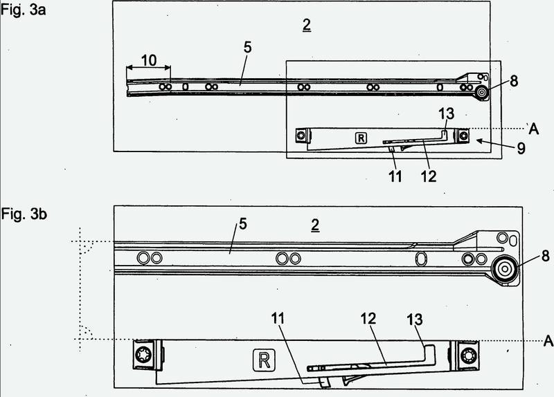 Dispositivo de retracción para cajones.