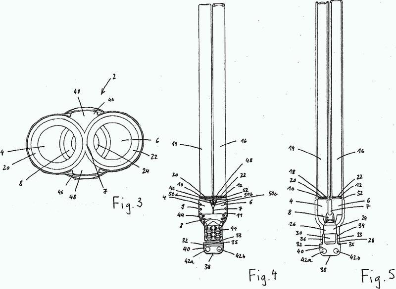 Pieza de unión para tuberías de una instalación de sonda geotérmica.
