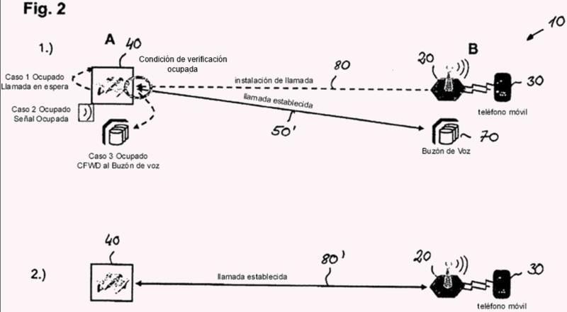 Método para restablecer una conexión de comunicaciones interrumpida y el sistema de telecomunicaciones de la misma.
