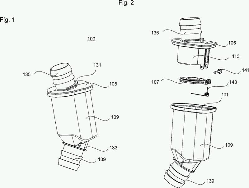 Válvula de conducto para un conducto de fluido.