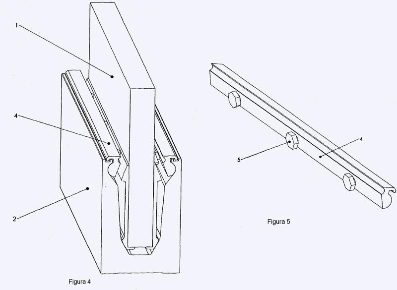 Mecanismo de soporte y ajuste de un panel y método de ajuste de la alineación vertical de un panel.