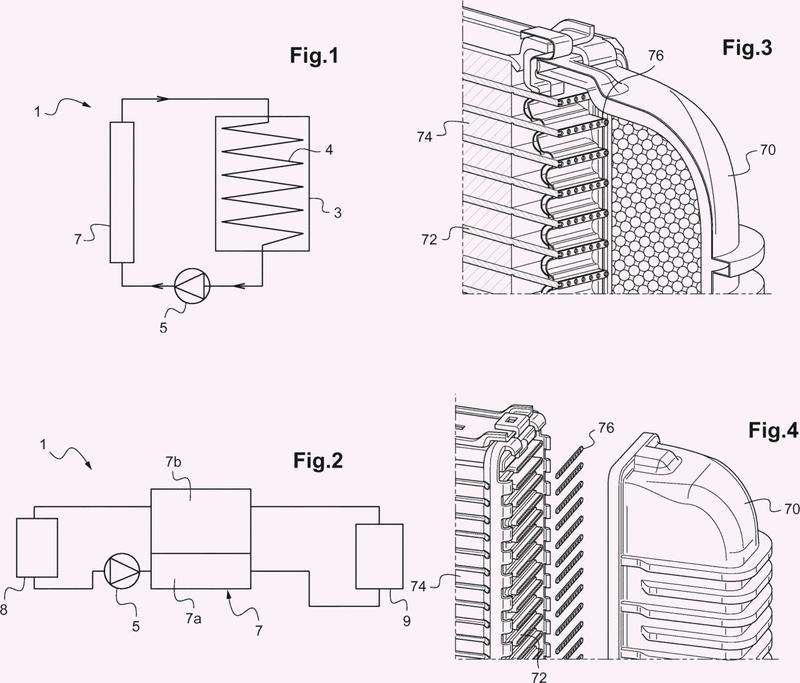 Disipador de calor y circuito de gestión térmica asociado.