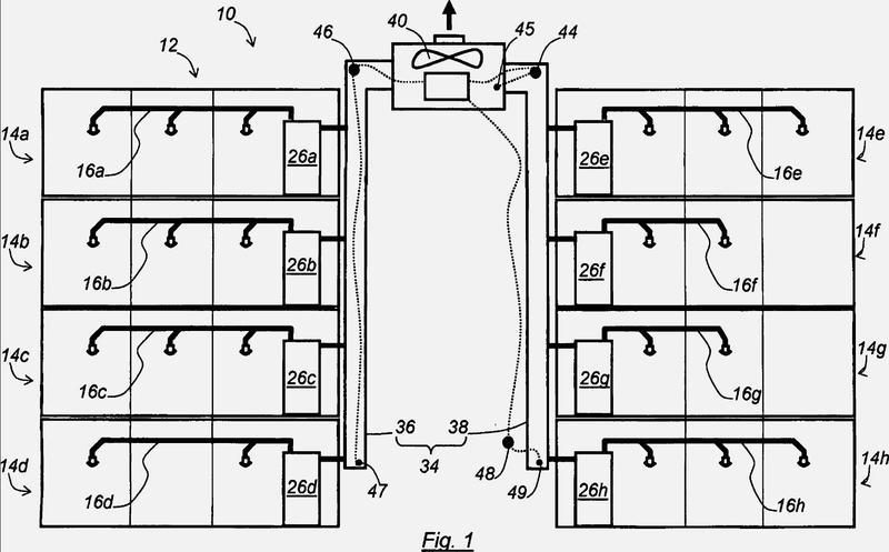 Instalación de producción de agua caliente sanitaria para una vivienda colectiva y procedimiento de realización de tal instalación.