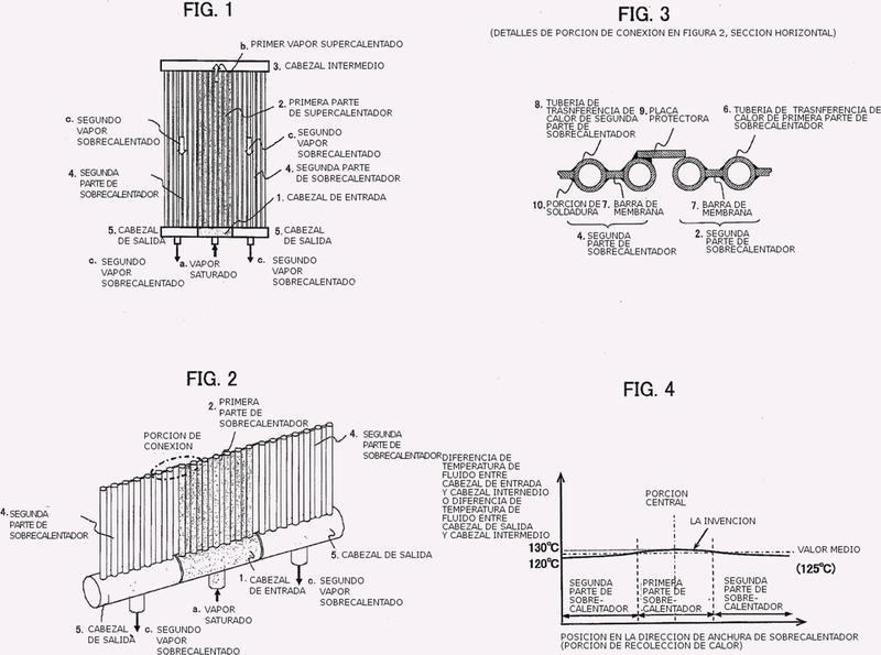 Colector solar para caldera de calor solar, y caldera de calor solar de tipo torre equipada con el mismo.