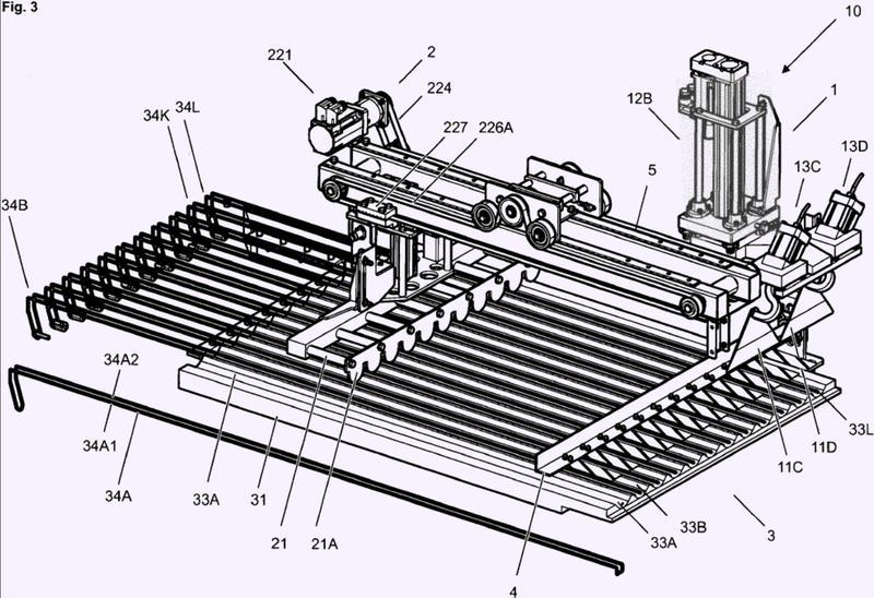 Procedimiento y dispositivo para cortar productos alimenticios.