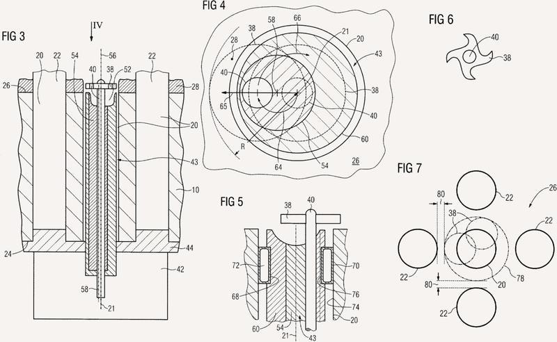 Procedimiento y dispositivo para extraer una muestra de un generador de vapor.