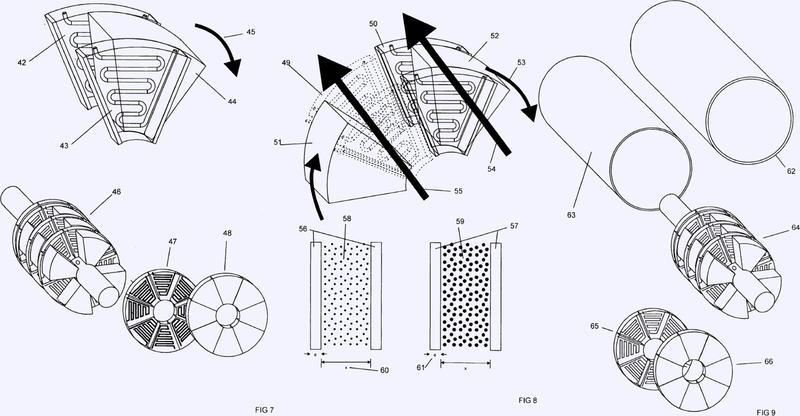 Conversor de energía que utiliza un ciclo de stirling.