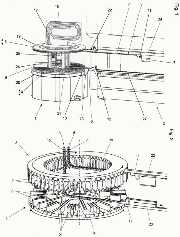 Dispositivo de cambio de herramienta para una prensa de conformación.