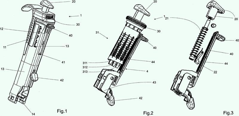 Dispositivo con indicación para la dosificación repetida.