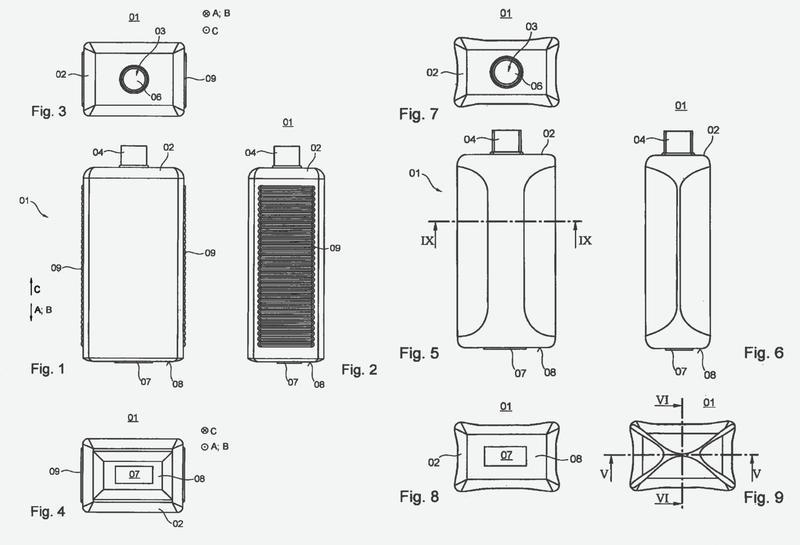 Depósito de un dispositivo de impresión y un procedimiento para el vaciado de un depósito intercambiable de un dispositivo de impresión.