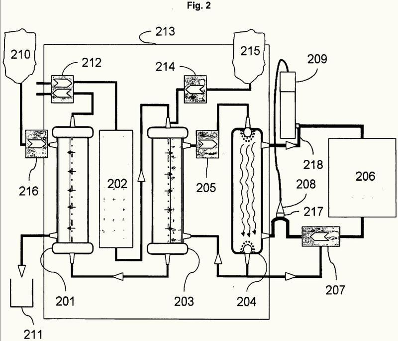 Dispositivo y método para solubilizar, separar, eliminar y hacer reaccionar ácidos carboxílicos en aceites, grasas o soluciones acuosas u orgánicas por medio de micro- o nano-emulsificación.