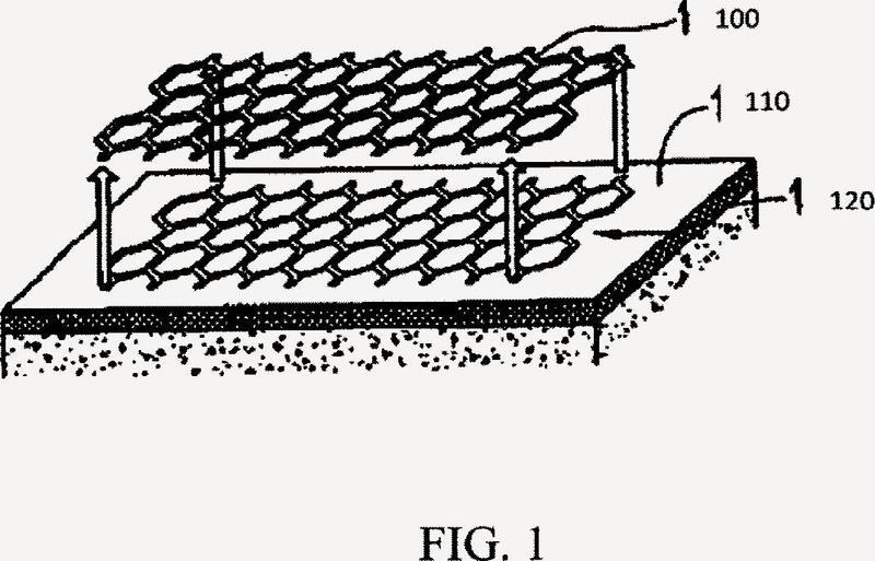 Método de formación de un patrón de incrustación en una superficie de asfalto.