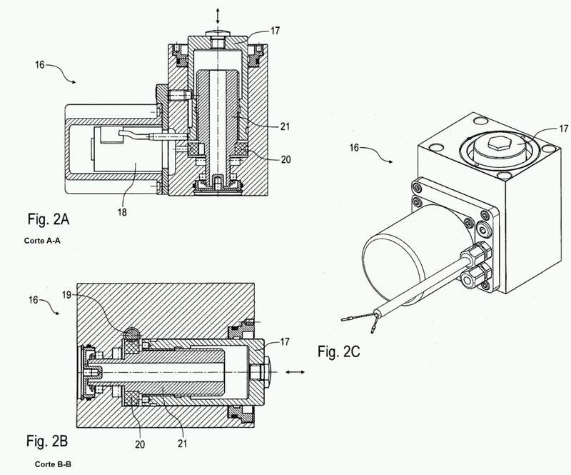 Dispositivo de sujeción con un electromotor.