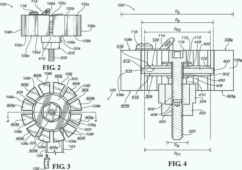 Detector de vibraciones piezoeléctrico para la detección de fugas de fluidos.