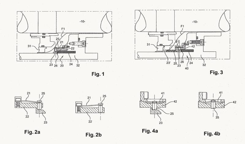 Dispositivo de estanqueidad en parado pasivo para sistema de juntas de árbol de un grupo motobomba primario.