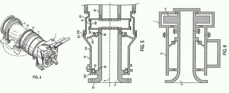 Conjunto de cojinete principal para una turbina eólica.